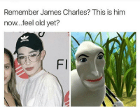 What are your favorite songs?: Remember James Charles? This is him  now...feel old yet?  as  Fl What are your favorite songs?