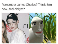 block me please @jamescharles tag him: Remember James Charles? This is him  now...feel old yet?  Fl block me please @jamescharles tag him