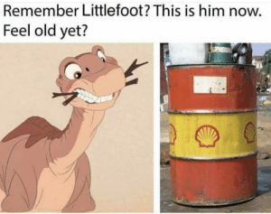 Dank, Memes, and Target: Remember Littlefoot? This is him now.  Feel old yet? Time flies by Kmans11 MORE MEMES