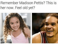 Funny, Life, and Old: Remember Madison Pettis? This is  her now. Feel old yet? If you're not following @mytherapistsays idk what ur doing with ur life.