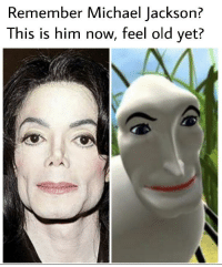 Michael Jackson: Remember Michael Jackson?  This is him now, feel old yet?