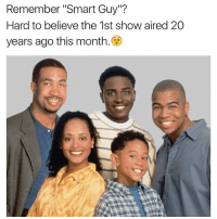 "Remember ""Smart Guy""?  Hard to believe the 1st show aired 20  years ago this month"