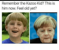 History, Old, and Him: Remember the Kazoo Kid? This is  him now. Feel old yet?