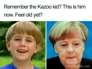 Old, Com, and Him: Remember the Kazoo kid? This is him  now. Feel old yet?  boredpanda.com