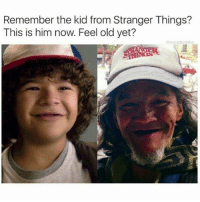 Memes, Time, and Old: Remember the kid from Stranger Things?  This is him now. Feel old yet?  moistbuddha He's a grown man with baby teeth 😂 time goes by fast follow @humorkingdom for more 🔥