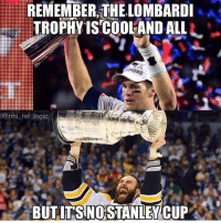 SEND THIS TO UR BUDS 😩 DOUBLE TAP FOR THE STANLEY CUP! Both sports are great!: REMEMBER,THE LOMBARDI  TROPHYISCOOLANDALLL-  PIO  NS  @nhl_ref logic  BUT IT'S NO STANIEWCUP . SEND THIS TO UR BUDS 😩 DOUBLE TAP FOR THE STANLEY CUP! Both sports are great!