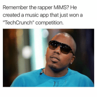 "Memes, Music, and 🤖: Remember the rapper MiMS? He  created a music app that just won a  ""TechCrunch"" competition."