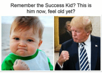 success kid: Remember the Success Kid? This is  him now, feel old yet?