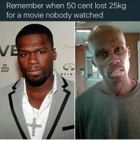 Wait is this fr: Remember when 50 cent lost 25kg  for a movie nobody watched  NFINI Wait is this fr