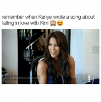 "Goals, Kanye, and Kardashians: remember when Kanye wrote a song about  falling in love with Kim  OPEHUIG ACI  IG rdashianrela Comment ""Kanye and Kim"" with your eyes closed 😂🙈 follow me (@kardashiianrelate) for more ⛅️ - - - - kyliejenner kimkardashian khloekardashian kourtneykardashian kendalljenner kim khloe kourtney kylie kim kendall krisjenner kuwtk likesreturned khlomoney kimk kimye kris instamood instagood followbackalways west disick kardashian jenner kardashians jenners kingkylie northwest saintwest goals - (Copyrights go to E! Entertainment)"