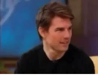 Funny, Tom Cruise, and Cruise: Remember when Tom Cruise was on Oprah high af... that boy was GONE.
