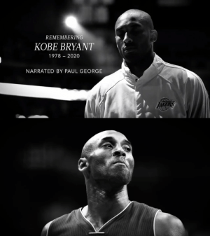 Remembering Kobe Bryant  Narrated by Paul George  https://t.co/9h0C6ih0Gq: Remembering Kobe Bryant  Narrated by Paul George  https://t.co/9h0C6ih0Gq