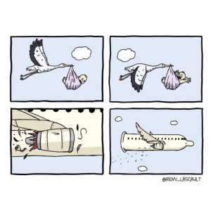 Condom and Airlines: @REMILLASCAULT [OC] Condom Airlines