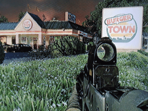 Reminder that Burger Town is out of our grasp. (C.o.D: MW2): Reminder that Burger Town is out of our grasp. (C.o.D: MW2)
