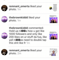😂 this guy is speaking the truth🤔🤔. Follow my backup @dont.do.fem.backup feminist gender gay lesbian trans transgender cis cisgender offended sjw socialjustice white black race racism reverseracism bi men women antisocialjustice antifeminist antifeminism equality rape rapeculture feminism paygap trump Clinton: remnant omerta liked your  photo  1m  the brownkiddd liked your  photo  1m  thebrownkiddd commented:  Hold up n  BB  a how u got like  1000 followers and only like  200 likes on ur stuff da fug, like  yall n  BIB  as need to double tap  this shit like fr  1m  remnant omerta liked your  photo  2m  Shit wha people doc 😂 this guy is speaking the truth🤔🤔. Follow my backup @dont.do.fem.backup feminist gender gay lesbian trans transgender cis cisgender offended sjw socialjustice white black race racism reverseracism bi men women antisocialjustice antifeminist antifeminism equality rape rapeculture feminism paygap trump Clinton