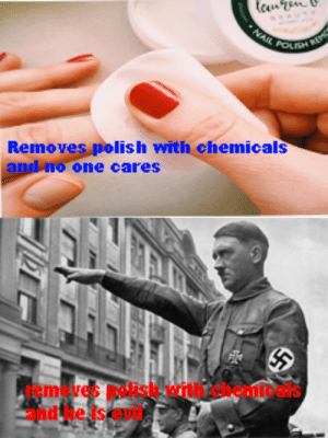 Dank, Memes, and Target: Remove  s pol  one cares  lish with chemicals  vene olaicaca  removes polish with chemicals  and he is evil We need equality by elongated-musk MORE MEMES