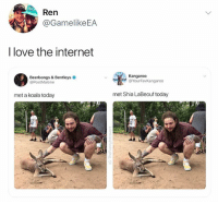 @postmalone did u get the pretzels I sent u: Ren  @GamelikeEA  I love the internet  Beerbongs & Bentleys  @PostMalone  Kangaroo  @YourFavKangaroo  met a koala today  met Shia LaBeouf today @postmalone did u get the pretzels I sent u