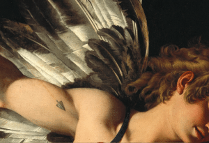 renaissance-art: Giovanni Baglione c. 1602 Sacred and Profane Love (detail) : renaissance-art: Giovanni Baglione c. 1602 Sacred and Profane Love (detail)