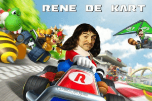 why are you all following me my humor is is only going down from here: RENE DE KART  CLASSICAL ART MEMES  facebookcom/classicalartimemes why are you all following me my humor is is only going down from here