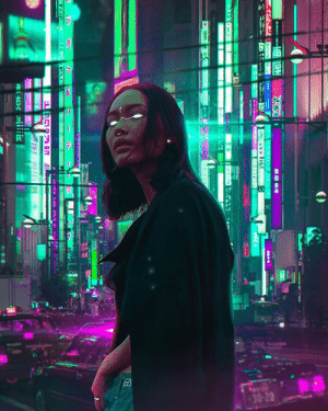 Renew Some More #Cyberpunk in #Photoshop Was Thinking of
