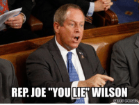 """Internet, Memes, and Obama: REP JOE """"YOU LIEN WILSON  GETTY IMAGES """"Rep. Joe Wilson (R-SC) got a taste of his own medicine Monday, when attendees at a town hall chanted """"you lie"""" in response to his assertion that """"I've also supported the local solicitor here, and the solicitor in Lexington, all efforts to make sure that violence against women is fully enforced."""" POS ••••••••••••••••••••••••••••••••••••••• """"What do I know about it? All I know is what's on the internet."""" - DJT ••••••••••••••••••••••••••••••••••••••• @trumpmememe NoTrumpNoKKKNoFascistUSA Trump YOULIE PresidentMeme PresidentSnowflake FuckTrump LockHimUp TrumpForPrison ConArtist AmeriKKKa Resist Obama Obamacare Hillary NoBanNoWall ButHerEmails NotMyPresident FakePresident ManChild MakeTrumpFurious SoCalledPresident🖕 GoogleIt TrumpFlakes •••••••••••••••••••••••••••••••••••••••"""