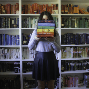 Harry Potter, Instagram, and Love: REPLICA  y3H  BLOODHO  STIFF  RTI aimeereadsalot: Take a peek at some rainbow reads. Instagram | Goodreads | Twitter | Booktube