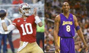 REPORT: Jimmy Garoppolo to honor Kobe Bryant by only throwing 8 passes for 24 yards in the Super Bowl https://t.co/6MBH8QEifu: REPORT: Jimmy Garoppolo to honor Kobe Bryant by only throwing 8 passes for 24 yards in the Super Bowl https://t.co/6MBH8QEifu