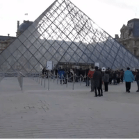 """Repost: @CNN-""""Sirens blare at the Louvre museum in Paris on Friday morning. A soldier on duty near the Louvre opened fire on a man who attempted to attack him with a machete. According to the Paris prefect, the attacker was wearing two backpacks and shouted """"Allahu akbar"""" as he rushed at a group of soldiers. He was seriously injured by a bullet to the stomach."""" 🙏🇫🇷 France WSHH: Repost: @CNN-""""Sirens blare at the Louvre museum in Paris on Friday morning. A soldier on duty near the Louvre opened fire on a man who attempted to attack him with a machete. According to the Paris prefect, the attacker was wearing two backpacks and shouted """"Allahu akbar"""" as he rushed at a group of soldiers. He was seriously injured by a bullet to the stomach."""" 🙏🇫🇷 France WSHH"""