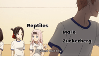 Meme, Http, and Image: Reptiles  Mark  Zuckerbero  I raised that bov  0 Weeb Meme Format combines both label and reaction image formats - invest now! via /r/MemeEconomy http://bit.ly/2I6MyJW