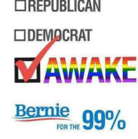 if u support republicans or democrats you are NOT awake: REPUBLICAN  DEMOCRAT  AVVANC  99%  FOR THE if u support republicans or democrats you are NOT awake