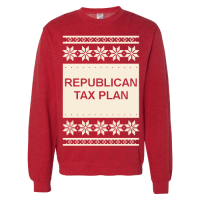 The ugliest sweater of the season: REPUBLICAN  TAX PLAN The ugliest sweater of the season