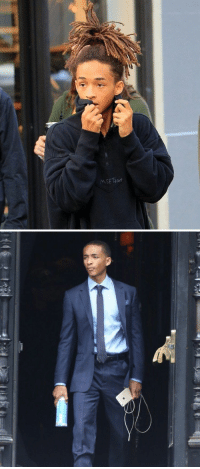 Jaden Smith just casually going from The Weeknd to Barack Obama https://t.co/NzwRtzeMiG: Rer  F  S Jaden Smith just casually going from The Weeknd to Barack Obama https://t.co/NzwRtzeMiG