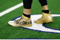 Memes, 🤖, and Nflnetwork: RESDREAM .@drewbrees' #MyCauseMyCleats!  #NOvsDAL: 8pm ET on @nflnetwork | @NFLonFOX | @PrimeVideo https://t.co/viWnWrfDAf