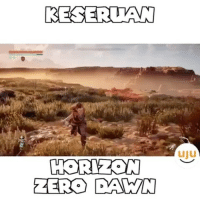 Memes, Monster, and Zero: RESERUAN  HORIZON  ZERO DAWN  uiu Monster hunter :D @bujubuset dagelangaming gamers games gaming