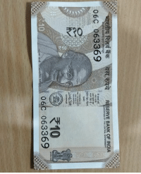 Memes, Bank, and India: RESERVE BANK OF INDIA  BY THE CENTRAL  06C 063369  GOVERNOR  き10  0  06C 063369 10rs ka Naya note.. bcbaba