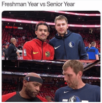 Finals, Nba, and Senior Year: reshman Year vs Senior Year  State Form ARENA Before finals —> after finals
