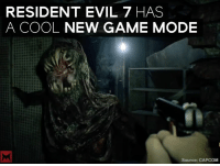 """""""Madhouse"""" is Resident Evil 7's insane new mode 😈: RESIDENT EVIL 7 HAS  A COOL  NEW GAME MODE  Source: CAPCOM """"Madhouse"""" is Resident Evil 7's insane new mode 😈"""