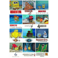 Evil, Resident Evil, and Code: RESIDENT EVIL  CODE Veronica  RESIDENT EVIL  RE DENT  ENT EVIL. Bob Esponja y Resident Evil bobesponja escenas residentevil series cuantocabron