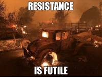 God, Red, and Resistance: RESISTANCE  IS FUTILE