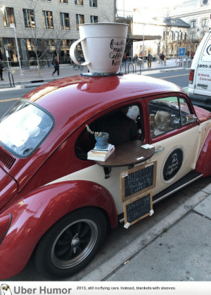 Cars, Tumblr, and Arizona: resk  madd  855-3  Arizona  Colorad  2013, sl no flying cars. Instead, blankets with sleeves. failnation:  This guy runs a coffee shop out of a Beetle