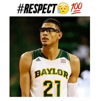 Isaiah Austin was a Top Center until doctors realized he had Marfan Syndrome, and could never play Basketball again 😥🙏🏼 @alleyoopings - Follow @boldmixes for more!:  #RESPECT  100  BAYLOR Isaiah Austin was a Top Center until doctors realized he had Marfan Syndrome, and could never play Basketball again 😥🙏🏼 @alleyoopings - Follow @boldmixes for more!