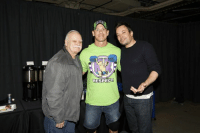 Honored to get a photo with the GREAT #JimmyFallon and the guy from The Tonight Show...Jimmy Fallon. He was also in the pic. #JimmysDad #WWEMSG: RESPECT Honored to get a photo with the GREAT #JimmyFallon and the guy from The Tonight Show...Jimmy Fallon. He was also in the pic. #JimmysDad #WWEMSG