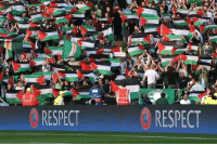 Celtic, Respect, and Soccer: RESPECT  RESPECT Celtic fans raised over £100,000 for Palestinian charities after last week's flag show of solidarity!