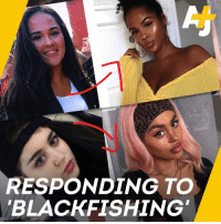 """Black influencers call out white women accused of using makeup to darken their skin in a practice dubbed """"blackfishing."""": RESPONDING TO  BLACKFISHING Black influencers call out white women accused of using makeup to darken their skin in a practice dubbed """"blackfishing."""""""
