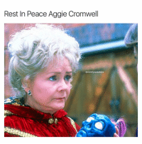 Kalabar will pay for this one if Marnie has anything to say about it: Rest In Peace Aggie Cromwell  @comfy sweaters Kalabar will pay for this one if Marnie has anything to say about it