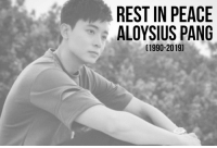Memes, Peace, and 🤖: REST IN PEACE  ALOYSIUS PANG  (1990-2019) MINDEF has just confirmed that Aloysius has passed away 😢