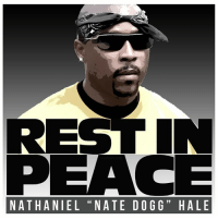 "REST IN  PEACE  N ATHANIEL ""NATE DOGG H ALE RIP Nate Dogg ✊🏿✊🏿✊🏿 rest in Power king. We still ain't heard another like you. natedogg soul 👑👑"