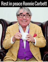 Dank, 🤖, and Rest: Rest in peace RonnieCorbett Legendary British comedian Ronnie Corbett has died aged 85. RIP.