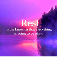 Rest friends. Emmanuel Dagher <3: Rest  in the knowing that everything  is going to be okay.  emmanueldagher com Rest friends. Emmanuel Dagher <3