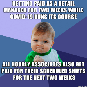 Retail success: Retail success